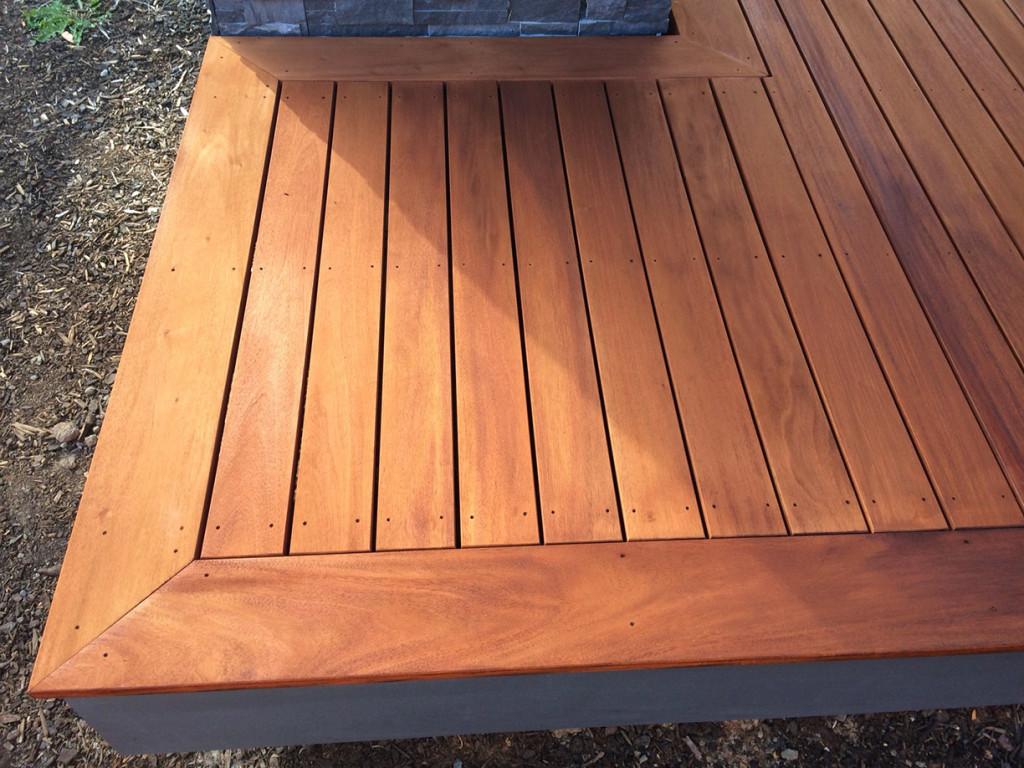 Wooden Deck Steps